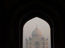 View on Taj Mahal Stock Images