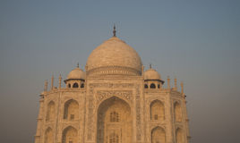 View on Taj Mahal Stock Image