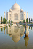 View of Taj Mahal at sunrise Stock Image