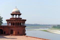 View from Taj Mahal Royalty Free Stock Photo