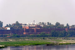 View from Taj Mahal Royalty Free Stock Photos