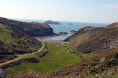 View. Taken in Pembrokeshire, April 2014. Solva Royalty Free Stock Photo