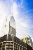 View with the tall buildings in Makati Royalty Free Stock Photo