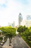 View tall buildings in Taipei, Taiwan Royalty Free Stock Image