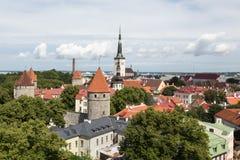 View of Tallinn, Estonia Royalty Free Stock Photography