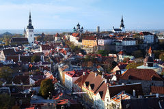 View of the Tallinn Old Town Stock Photography