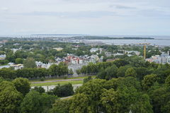 View at the Tallinn suburbs in Estonia. Stock Images