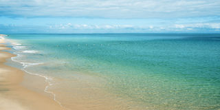 View from Tangalooma Island beach Stock Images