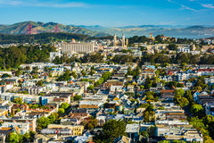View from Tank Hill Park, in San Francisco,  Stock Photos