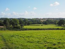 View of Tanworth in Arden Stock Photo