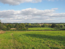 View of Tanworth in Arden Stock Image