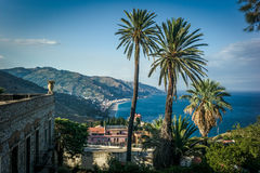 View from Taormina, Sicily Royalty Free Stock Photo