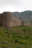 View of Tapi fortress of Gevorg Marzpetuni in Armenia Stock Images