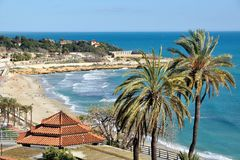 View of Tarragona Royalty Free Stock Images