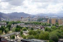View from Tashilhunpo Monastery Royalty Free Stock Photos