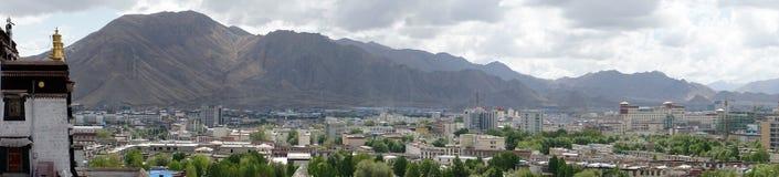 View from Tashilhunpo Monastery Stock Photo