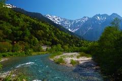 The View from Tashiro Bridge Stock Image
