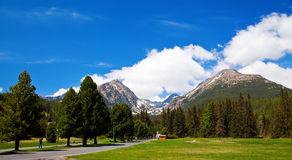 View of Tatra Mountains Royalty Free Stock Photo