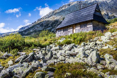 View of Tatra Mountains from hiking trail. Poland. Europe. Royalty Free Stock Photo