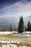 View of Tatra Mountains and Zakopane Stock Image