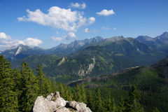 View of the Tatras Stock Photo