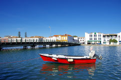 View of Tavira city, Portugal Royalty Free Stock Photos