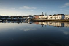Cityscape View of Tavira city in Portugal Stock Photography