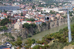 View of Tbilisi Royalty Free Stock Image
