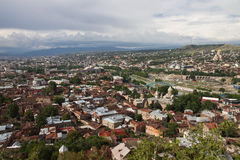 View of Tbilisi Royalty Free Stock Photography