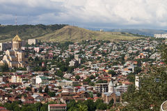 View of Tbilisi Stock Photography