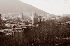 View on Tbilisi city Stock Images