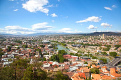View of Tbilisi, Georgia, August 4, 2013, editorial image Royalty Free Stock Photo