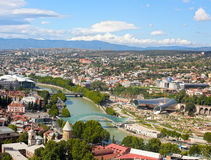 View of Tbilisi, Georgia, August 4, 2013, editorial image Stock Photo