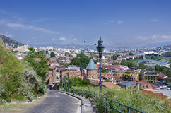 View on Tbilisi Stock Photo