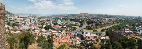 View of Tbilisi Royalty Free Stock Photos