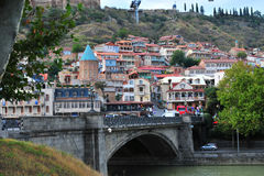View of Tbilisi old town, Georgia Stock Photo