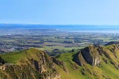 View from Te Mata Peak, Hawkes Bay, New Zealand Stock Image
