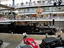 View of Technische Museum in Prague Royalty Free Stock Photo