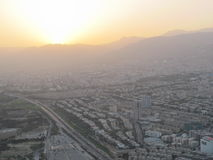 View of Teheran Stock Photo