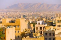 Tehran residential buildings, skyline. Iran Royalty Free Stock Photos