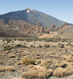 View of Teide Stock Photo