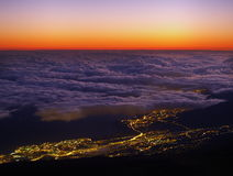 View from Teide Stock Photo