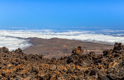 View from Teide Stock Photography