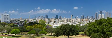 View of Tel Aviv. Royalty Free Stock Images