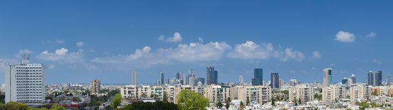 View of Tel Aviv. Stock Images