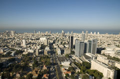 View of Tel-Aviv Royalty Free Stock Image