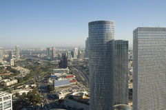 View of Tel-Aviv Royalty Free Stock Photography