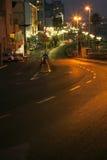 Tel-Aviv Boardwalk & Beach - Evening Royalty Free Stock Image