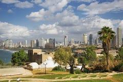 View of Tel-Aviv coastline from Jaffa, Stock Photos