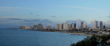View of the Tel Aviv Royalty Free Stock Photography